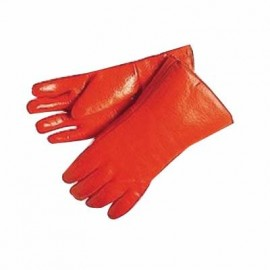 PVC Dipped Insulated 12 inch Orange Glove