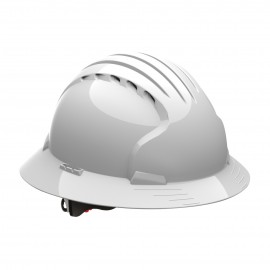 JSP Evo6161 Full Brim Vented Hard Hat (10/Case)