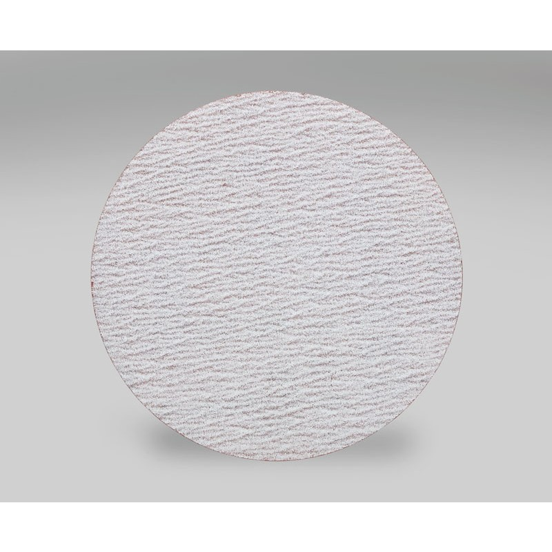 3M™ Hookit™ Microfinishing Film Disc 268L, D/F, Type D, 5 in x NH 8 Holes 60 Micron, 500 per case