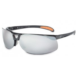 Uvex Protege Safety Glasses with Silver Mirror Lens