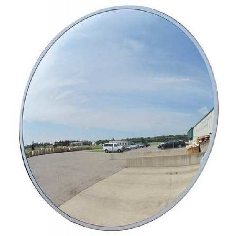 "Domes and Mirrors by Se-Kure TCVO-26T-PB 26"" Outdoor Convex Mirror"