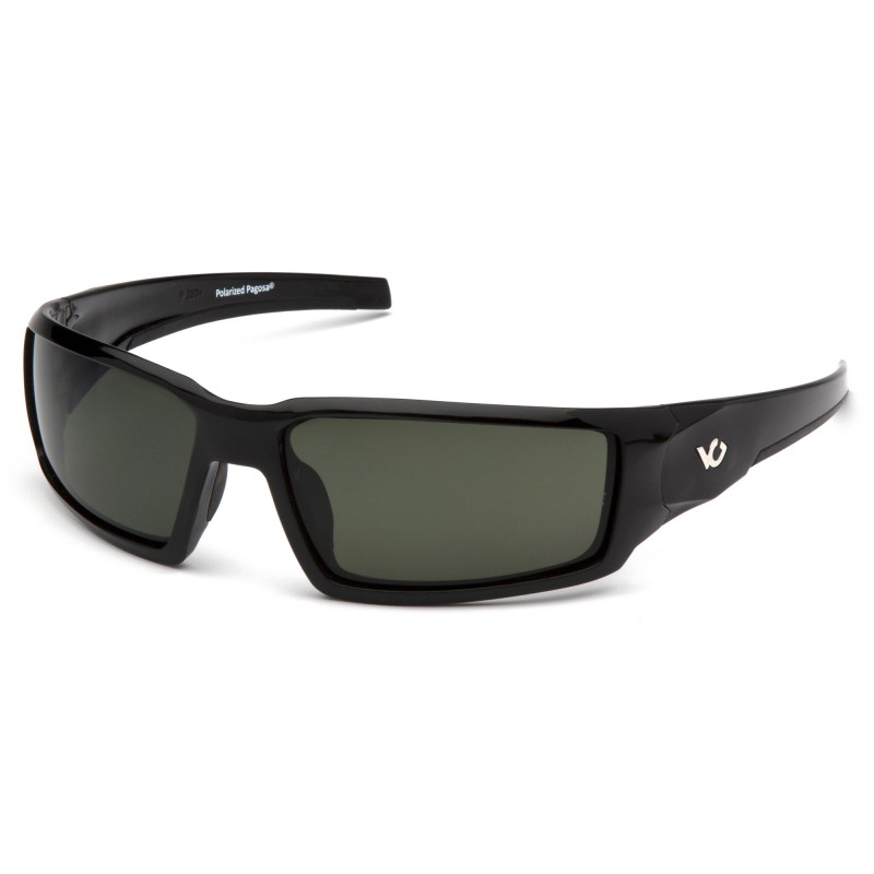 Venture Gear  Pagosa  Black Frame/Smoke Green AntiFog Lens  Safety Glasses  1 / EA