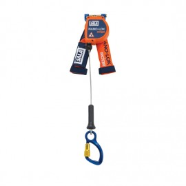 3M™ DBI-SALA® Nano-Lok™ edge Quick Connect Self Retracting Lifeline - Cable 3500214, Orange, 8 ft. (2.4 m)