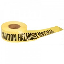 Presco Barricade Tape - CAUTION HAZARDOUS MATERIAL