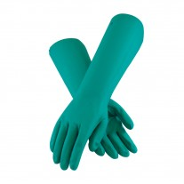Unsupported Nitrile, Unlined with Sandpatch Grip Glove - 22 Mil (1 DZ)