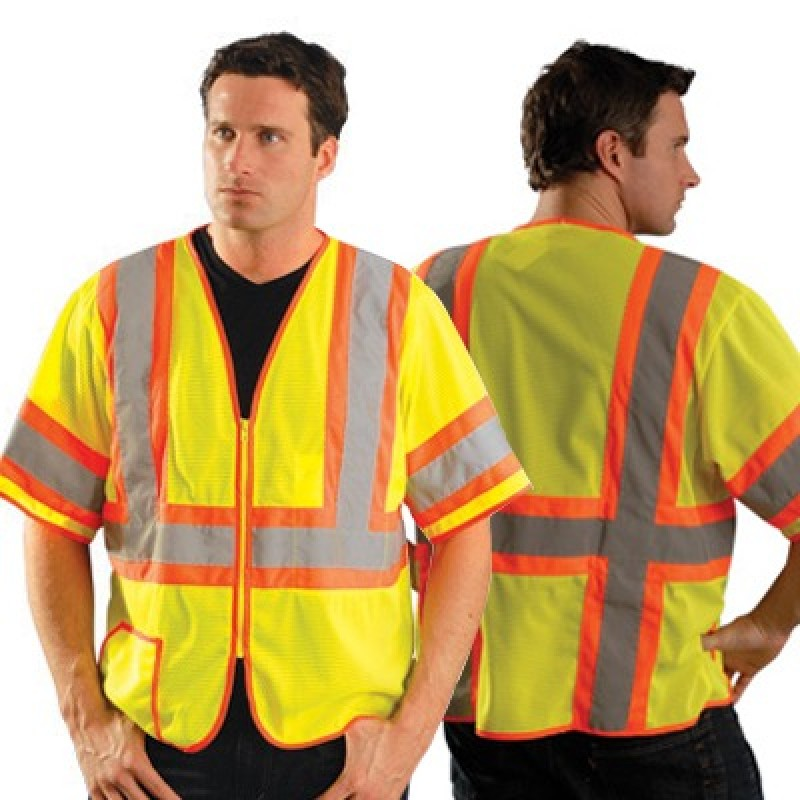 OccuLux Two-Tone Mesh Class 3 Safety Vest