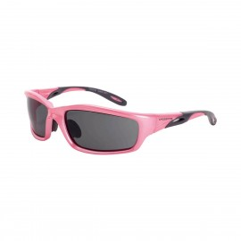 Radians Infinity Dark smoke Pink Frame Safety Glasses 12 PR/Box