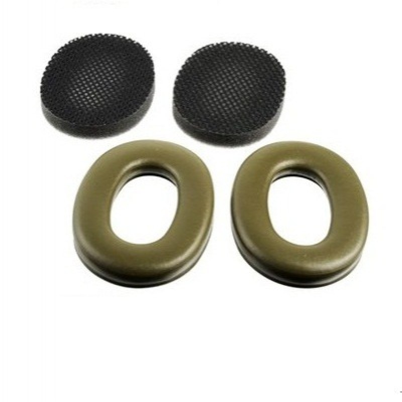 3M™ PELTOR™ Earmuff Hygiene Kit HY68, Green Earseals 1 Kit EA/Case