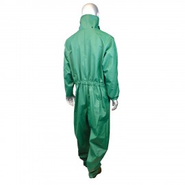 Radians DuraRad .42 Acid Gear Coverall Rainwear Green Color (1 Each)
