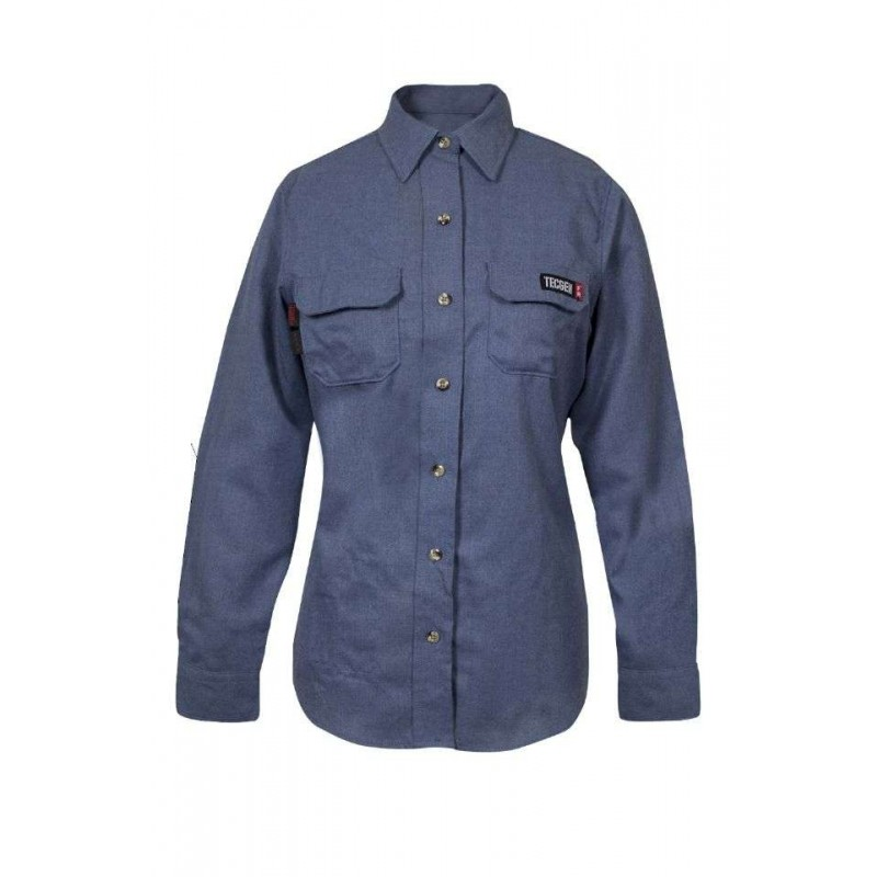 NSA TCGSSWN00119 Women's TECGEN SELECT FR Work Shirt