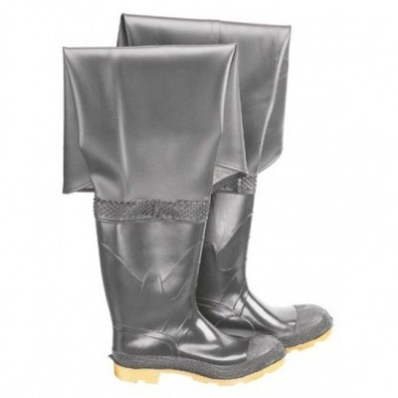Onguard Plain Toe Hip Wader Rubber Boots