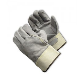 PIP 80-8844 Heavy Side Split Leather and Kevlar® Stiching Glove - Safety Cuff 72/Pairs
