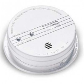 Brooks 120VAC Ionization Smoke Alarm with Exit Light