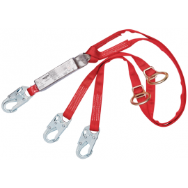 3M™ PROTECTA® PRO™ Pack Tie-Back 100% Tie-Off Shock Absorbing Lanyard 1342200