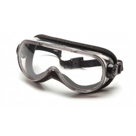 Pyramex  Goggles  Chem Splash Clear Anti Fog  Foam Padding Polycarbonate Safety Glasses  12 / BX