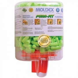 Moldex Pura Fit Earplugs 6844 Uncorded Plugstation Dispenser (250 Pairs/Dispenser)