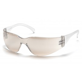 Pyramex Safety - Mini Intruder - I/O Mirror Frame/I/0 Mirror-Hardcoated Lens Polycarbonate Safety Glasses - 12 / BX