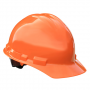 Radians Granite Cap Style 4 Point Ratchet Suspension Hard Hats Orange Color  (1 Each)