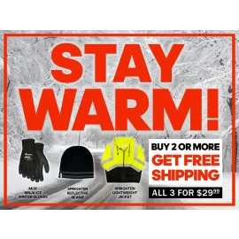 Winter Promo - Jacket, Beanie & Gloves