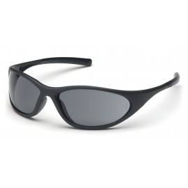 Pyramex Safety - Zone II - Matte Black Frame/Gray Lens Polycarbonate Safety Glasses - 12 / BX