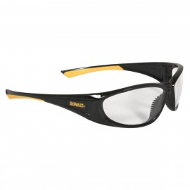 DEWALT Gable - Clear Lens Safety Glasses Full Frame Style Black Color - 12 Pairs / Box