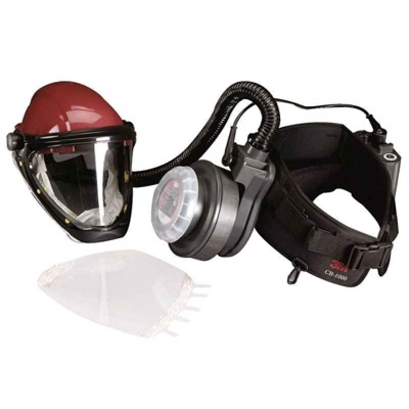 3M Powered Air Purifying Respirator (PAPR) Paint Spray Kit GVP-PSK