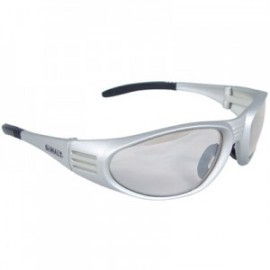 DeWalt Ventilator Silver Safety Glasses-Indoor/Outdoor Lens