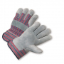 West Chester 558 Standard Split Cowhide Palm Rubberized Cuff Gloves 1/DZ