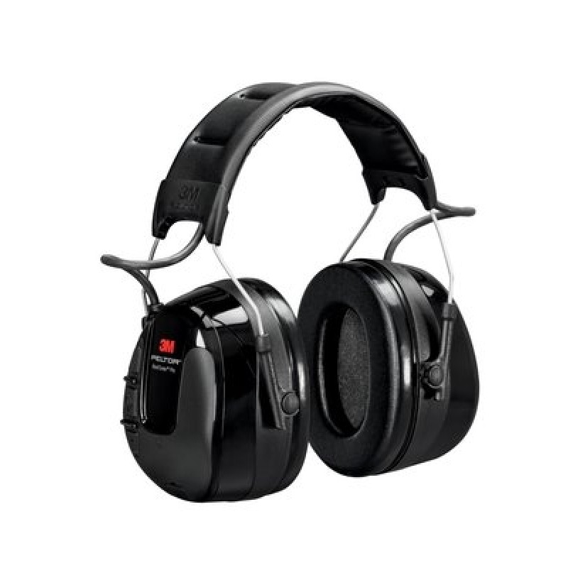 3M PELTOR WorkTunes PRO HRXS221A-NA - Replacement for WTD2600 AM/FM Headset, NRR 26, Black