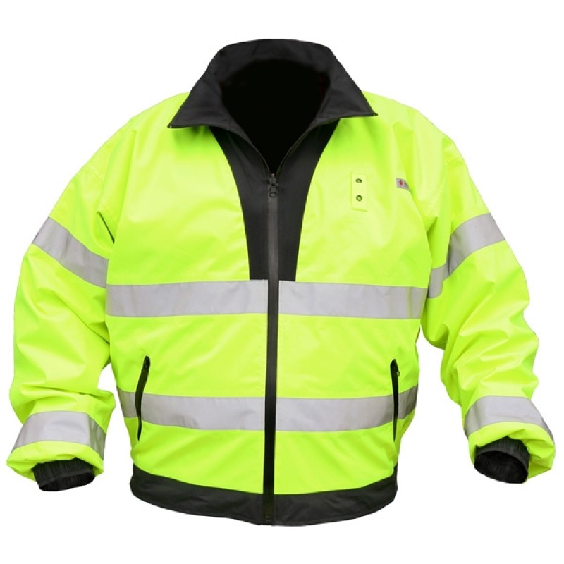 MCR River City BRCL3L - Luminator Class 3 Reversible Bomber Jacket (1 Each)
