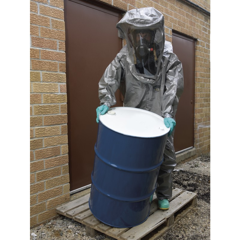 Lakeland C3T450 ChemMax 3 Encapsulated Suit - Respirator Fit Hood - 2 Exhaust Ports