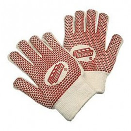 MCR Red Brick Hot Mill Nitrile Coated Gloves