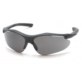 Pyramex  Fortress  Black Frame/Gray Lens  Safety Glasses  12/BX