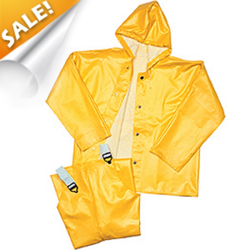 Tingley 32107 American Rain Jacket with Attached Hood