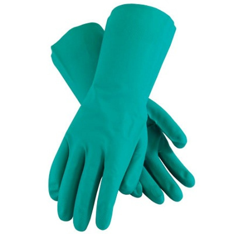 MAPA 11 mil Chemical Resistant Nitrile Gloves with Embossed Diamond Grip