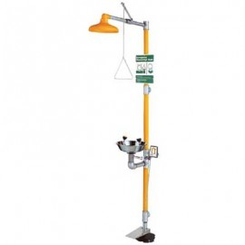 Guardian Safety Station with Eye Wash and Hand and Foot Control