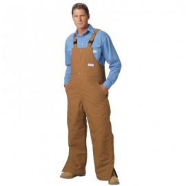 CPA Brown Duck Bib Overall - Level 2