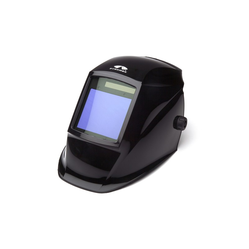 Pyramex Leadhead Auto Darkening Welding Helmet Black Color - 1 per Each