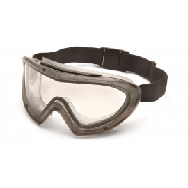 Pyramex  Capstone  Direct/Indirect Goggle  IR5 Lens and Green Tinted Faceshield Attachment Polycarbonate Safety Glasses  1 / EA