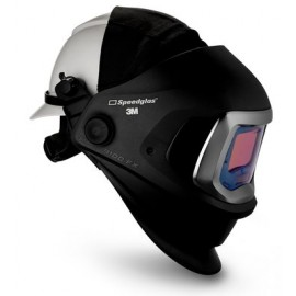 3M™ Speedglas™ Welding Helmet 9100 FX 06-0600-20HHSW, with Hard Hat, SideWindows and 3M™ Speedglas™ Auto-Darkening Filter 9100X, Shades 5, 8-13