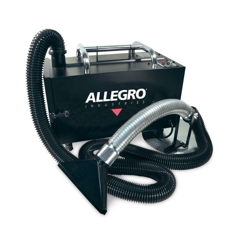 Allegro Portable Fume Extractor w/ HEPA Filter and Pleated ...