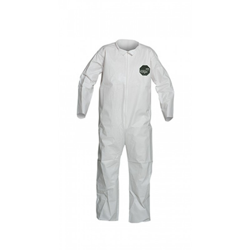 Dupont ProShield 50 NB120S Microporous Coveralls - Open Wrists and Ankles, Serged Seams (Case of 25)