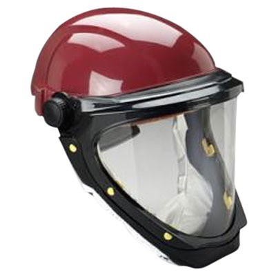 3m Bumpcap L 501 With Wide View Faceshield 3m