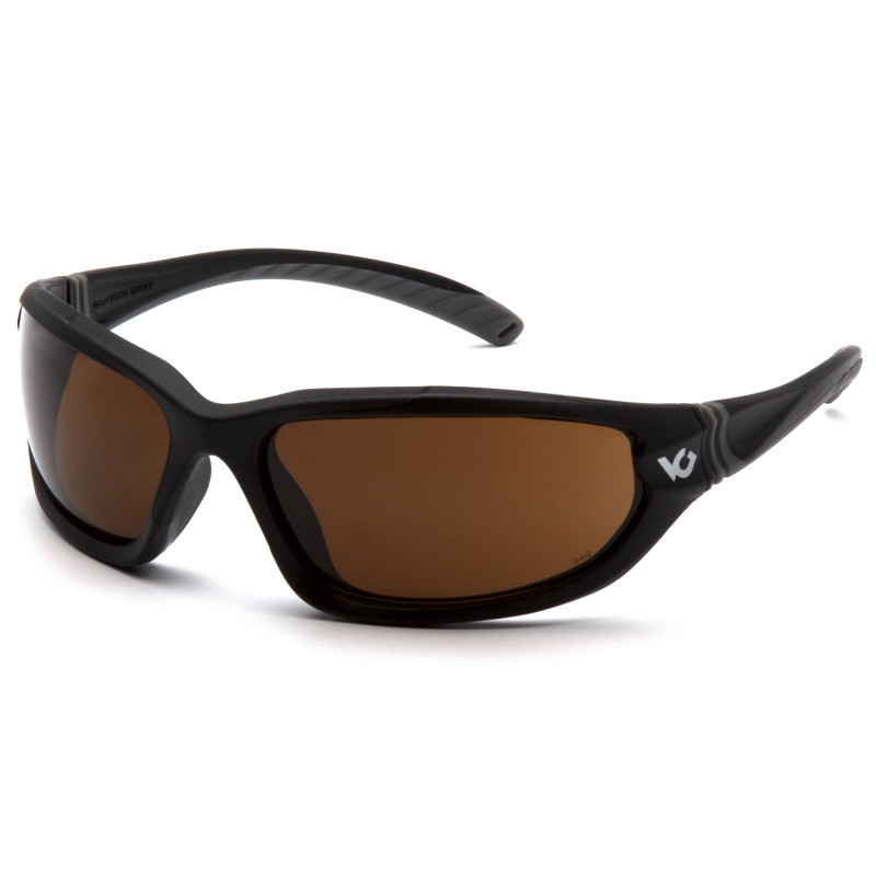 Venture Gear  Ocoee  Black Frame/Bronze AntiFog Lens IN POLYBAG  Safety Glasses  1 / EA