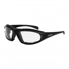 Radians Diamondback Clear AntiFog Matte Black Safety Glasses 12 PR/Box