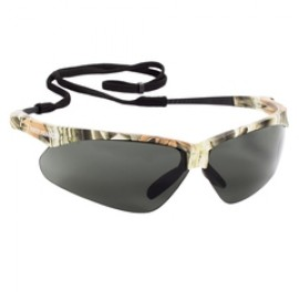 Jackson Safety Nemesis Polarized Safety Glasses, Polarized Smoke Lenses, Camo Frame, 12/Box