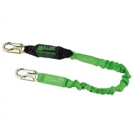 Honeywell Miller 8798RSS-Z7/6FTGN  StretchStop Lanyards with SoftStop Shock-Absorber