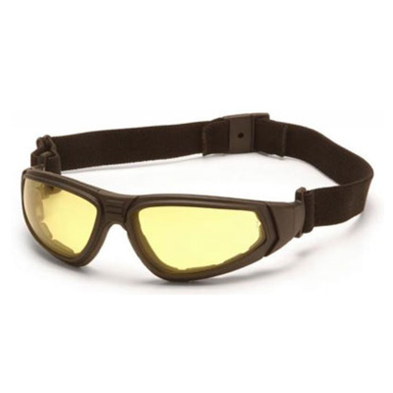 XSG Ballistic Safety Goggles with Amber Ballistic Anti-Fog Lens