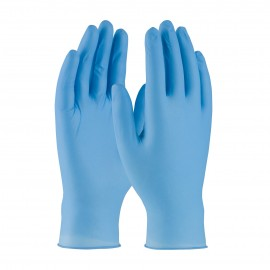 PIP 63-336/L Ambi-dex Overdrive Disposable Nitrile Glove, Powdered with Textured Grip - 6 mil Large