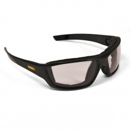 DEWALT Converter - Indoor/Outdoor Anti-Fog Lens Safety Glasses Full Frame Style Black Color - 12 Pairs / Box